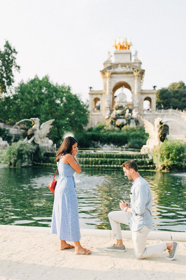 how to propose surprise proposal outdoor