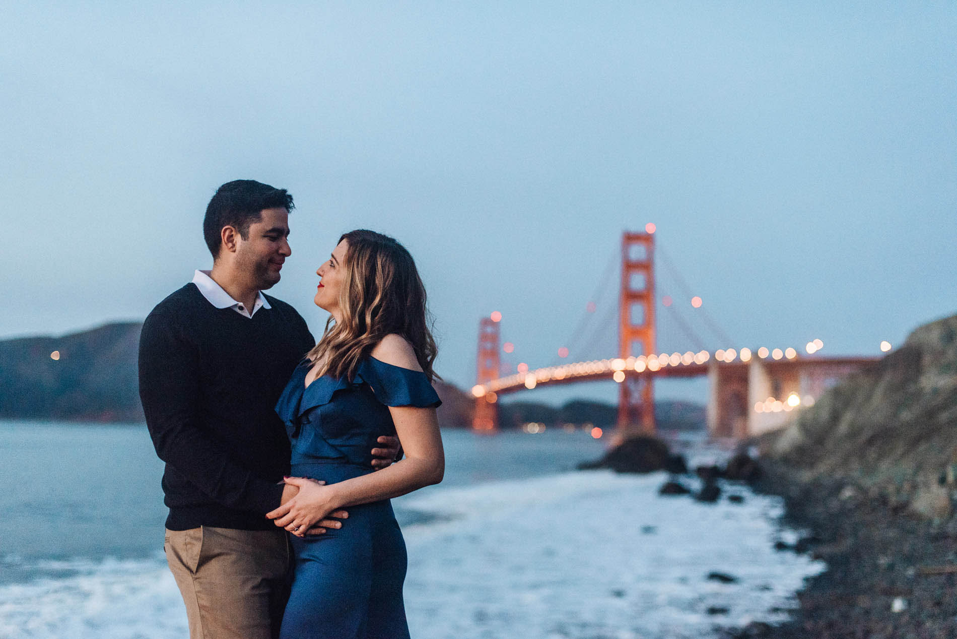 Engagement Photo Shoot in San Francisco: Amanda and Steven